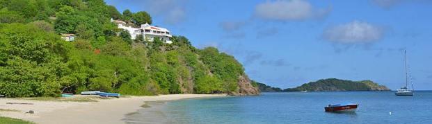 Las Tortugas villa on Paradise Beach, for rent.