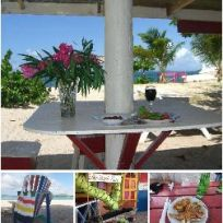 Paradise beach carriacou - off the hook fish restaurant and bar.