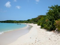 On carriacou this is the nicest beach.