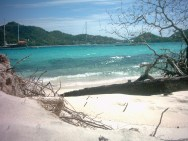 Sandy Island is a picture perfect Cay.