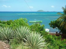 Views over watering bay Carriacou.