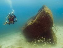 Carriacou is fantastic for wreck diving, many wrecks around the island.
