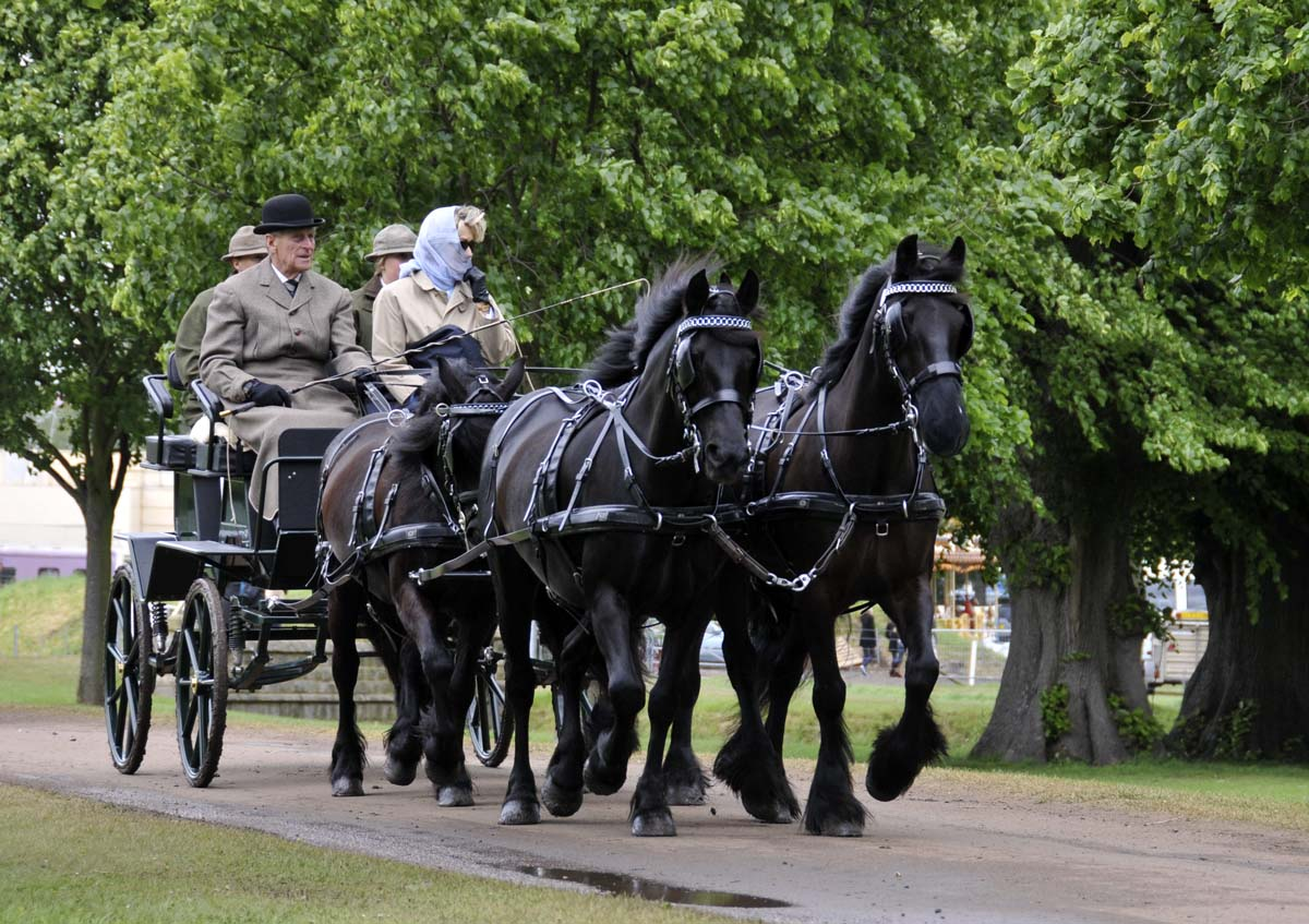 as is tradition, HRH Prince Philip led the way for the BDS drive