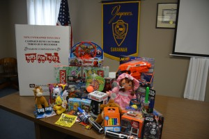 Toy Donation from Savannah Jaycees