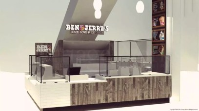 Ben & Jerry's Ice Cream Rendering