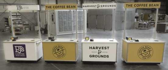 Delaware North Honor Cart - Indoor Self-Serve Coffee Cart (Various locations)