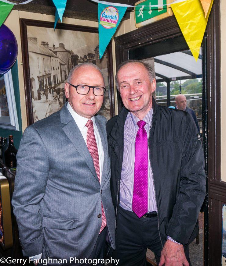 Ciaran Kelly and Gerry Murtagh