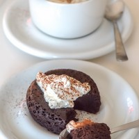 Chocolate Fudge Mug Cake