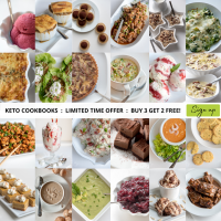Keto Cookbooks Limited Time Offer : Buy 3 Get 2 Free