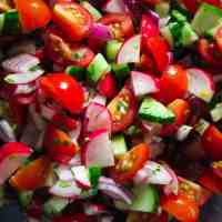 The BEST Chopped Salad How-To