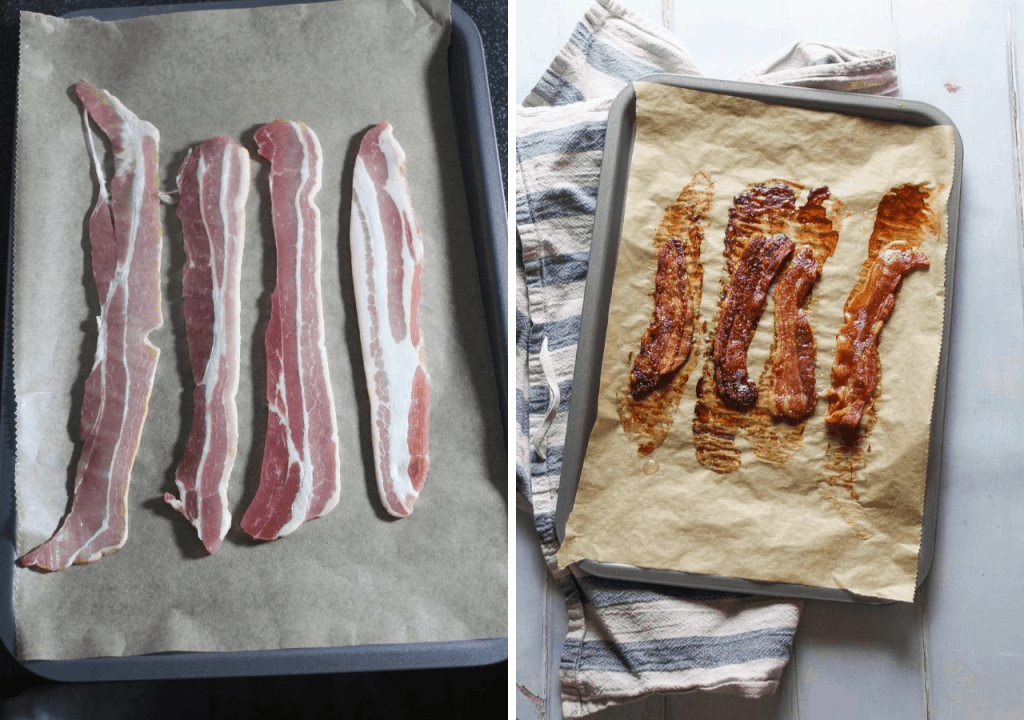 how to oven cook crispy bacon