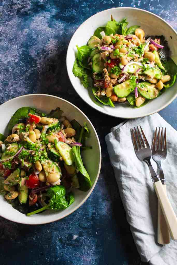 Easy no mayo tuna salad