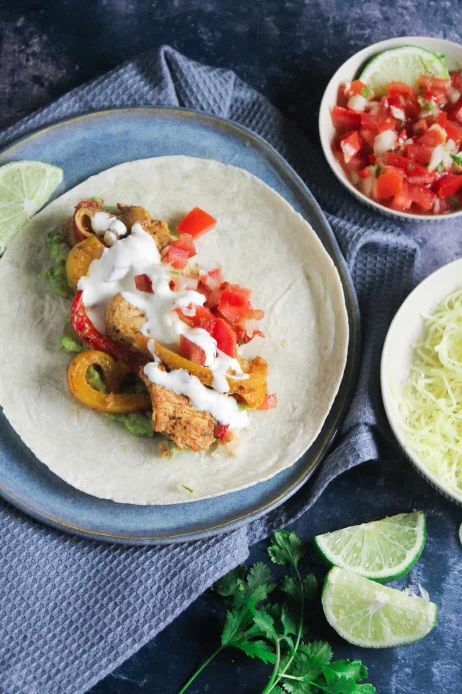 Easy Chicken Fajitas with Homemade Seasoning
