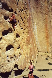 11 Sep 1999 Smith Rock - 5 Gallon Buckets leading up to Light on the Path
