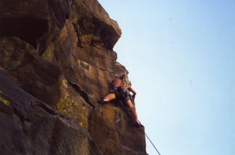 12 Sep 1999 Smith Rock - Unamed next to Meat Grinder 1