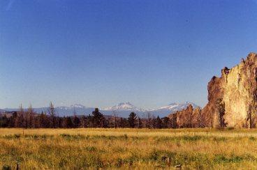 17 Sep 1999 Smith Rock - Broken Top and Three Sisters