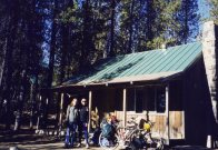 28 Sep 1999 Cara let us stay in her ski cabin at Elk Lake