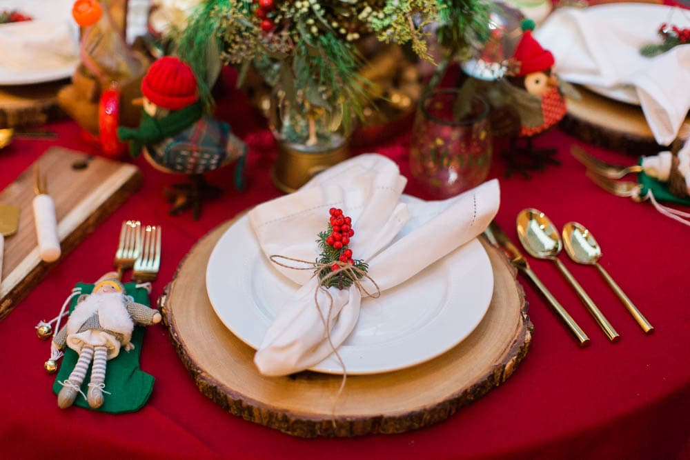 Beautiful Christmas Tablescapes Made Entirely From Target