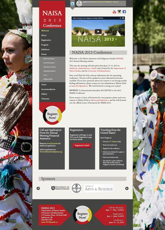 NAISA Conference - Full Homepage