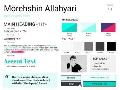 Morehshin Allahyari - Style Tile