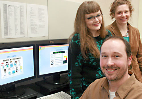 On Campus News, U of S, May 2009 - Carrie Gates, Barb Schindelka, and Mark Altman