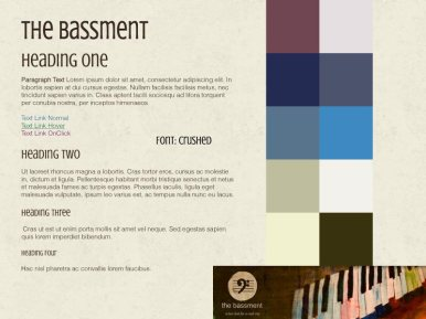 The Bassment - Style Tile