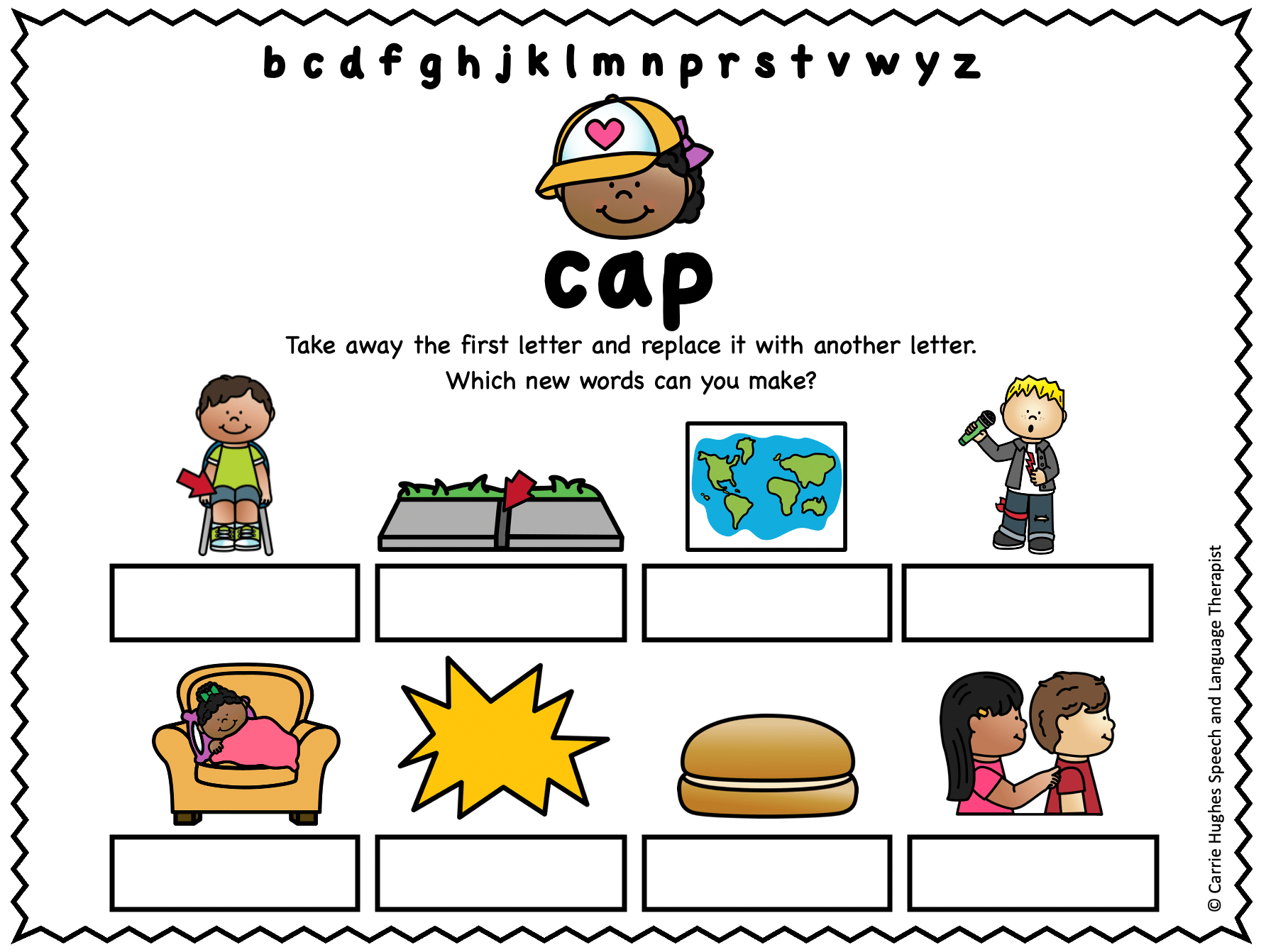 Rhyme And Phonological Awareness Worksheets