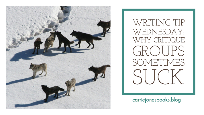 Wednesday Writing Hints – It is TOTALLY okay if you hate critique groups. Seriously. To Heck With Them!