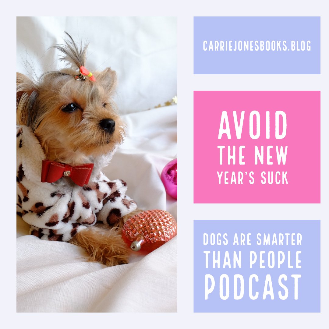 Avoiding the New Year's Suck – Dogs are Smarter Than People Podcast