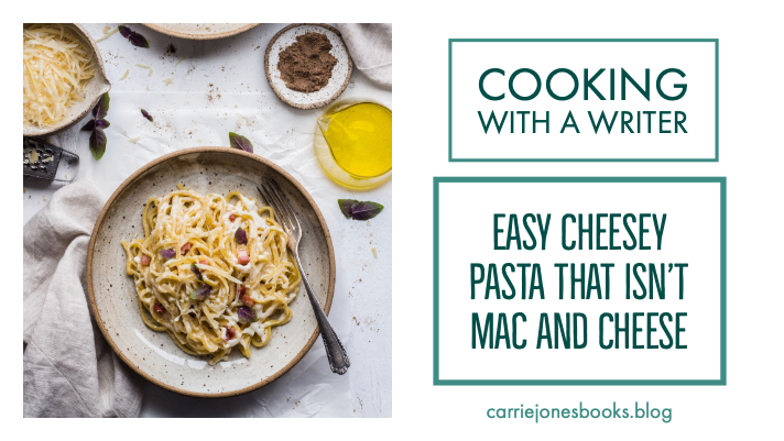 Easy Cheese Pasta that Isn't Mac and Cheese – Oh, Did He Just Say He was Salty?