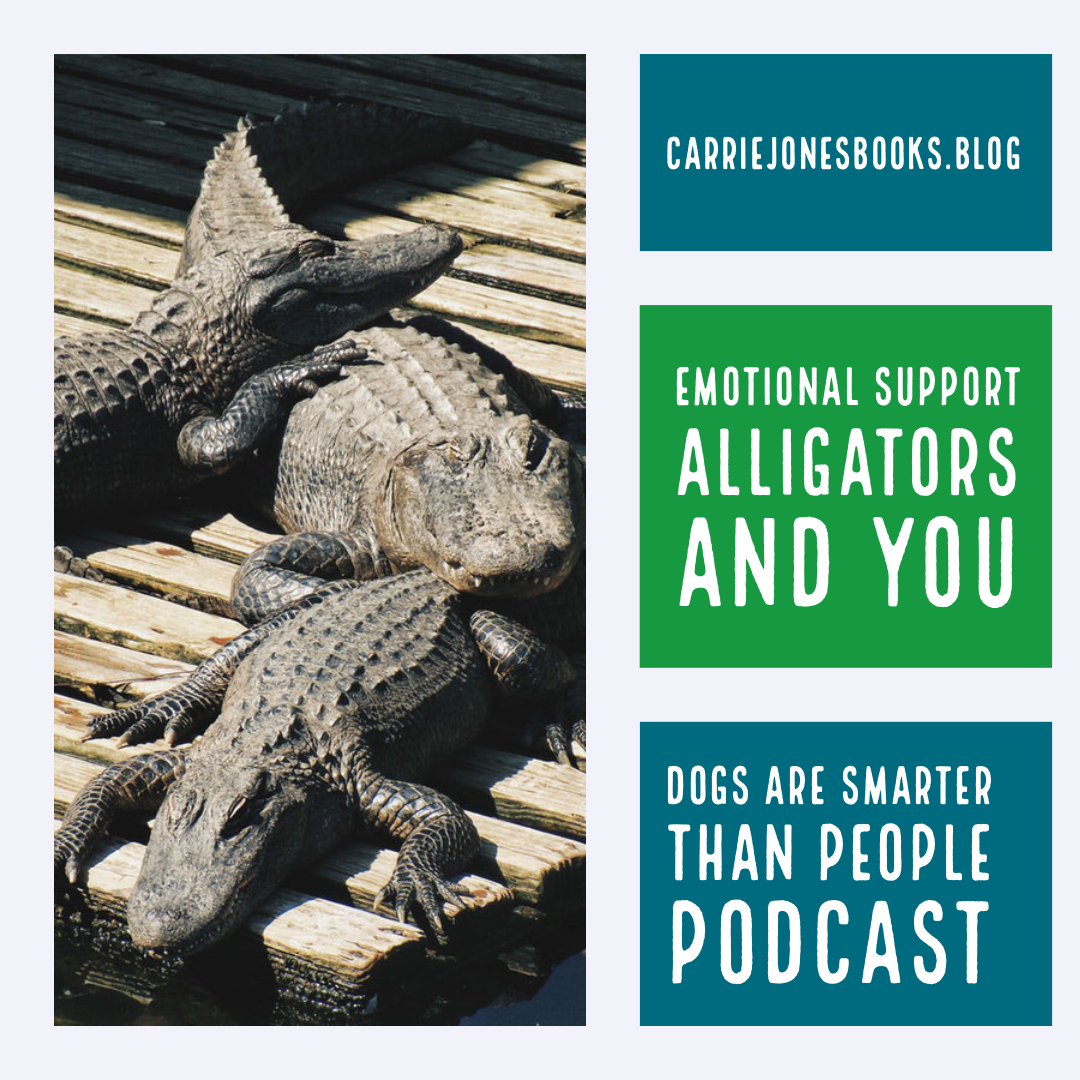 Emotional Support Alligators and You