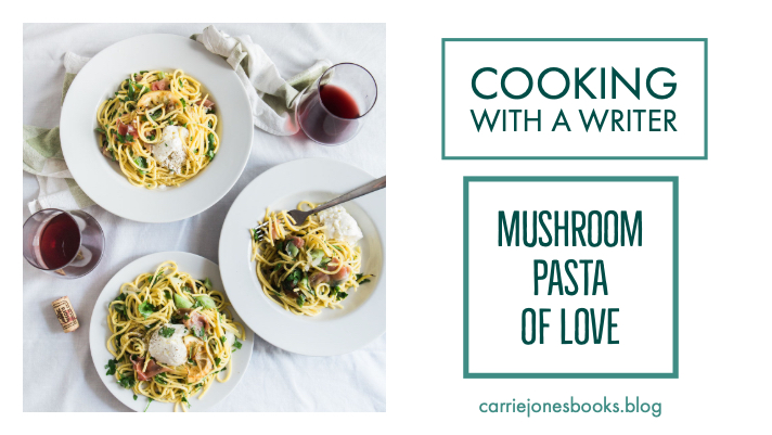 Easy Mushroom Pasta of Love