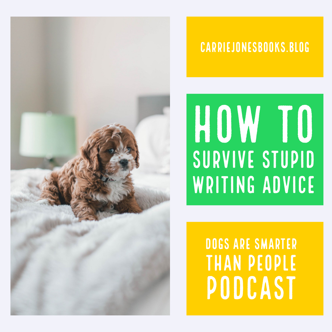 How to Survive Stupid Writing Advice