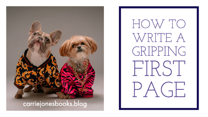 How to Write A Good First Page