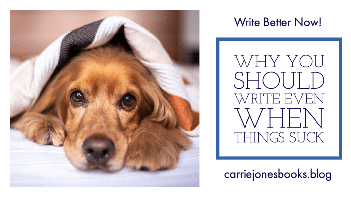 Why You Should Write Right Now