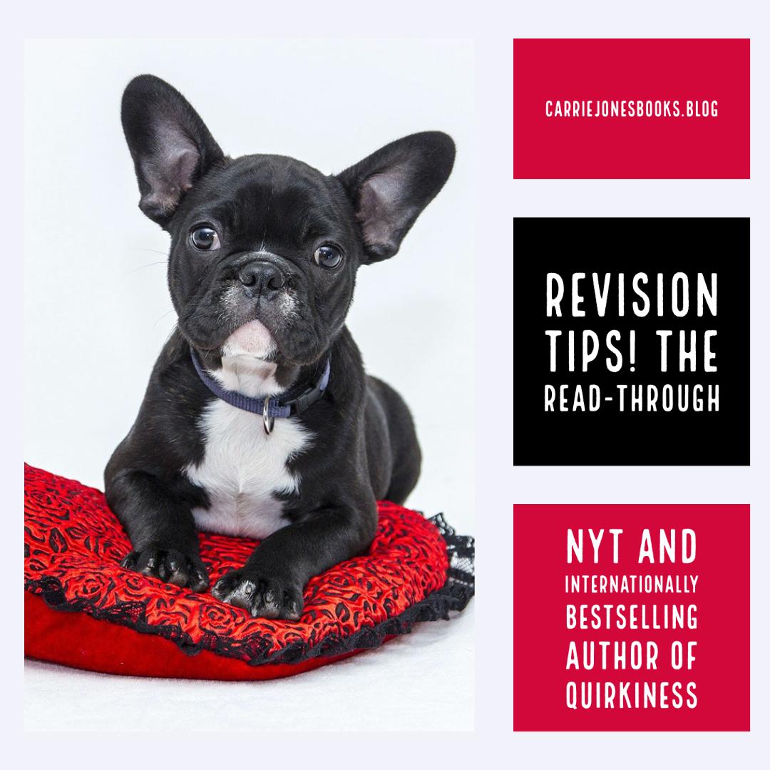 Revision Tips! The Sexy Read-Through