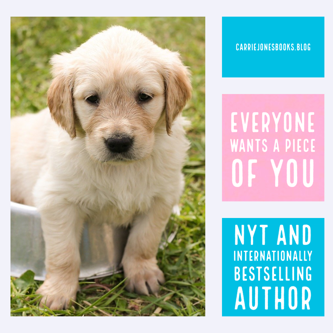 Everyone Wants a Piece of You – Including Us Writers