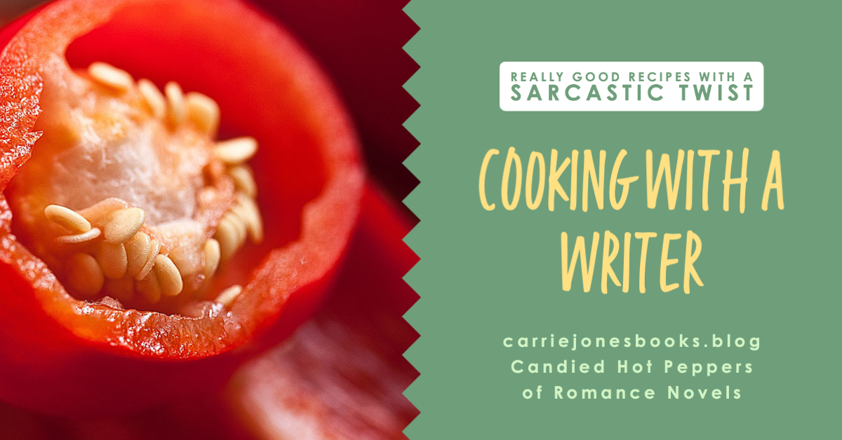 Sexy Candied Hot Peppers of Romance Novels