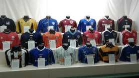 club jerseys, National Museum of Scottish Football
