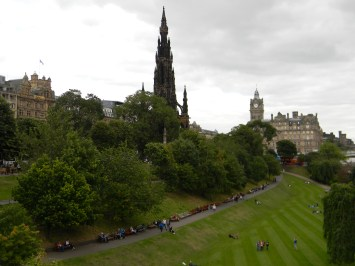 Princes Street Gardens, Scott Monument, Edinburgh