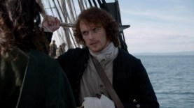 Jamie and Claire aboard the Cristabel. Image by STARZ/Sony Pictures Television, via Outlander-Online.com
