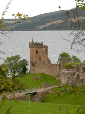 Urquhart Castle, Loch Ness. Image by C. L. Tangenberg
