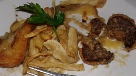 haggis bon bons & potato croquettes, Riverside Restaurant, Inverness
