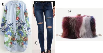 Flowerprint-Blouse-Fakefur-Bag