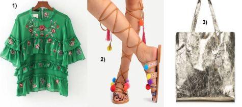 Embroidered-Blouse-Floralprint-metallic-Shopper-pompom-sandals-carrieslifestyle