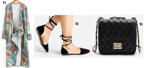 Kimono-Black-Slippers-Chanel-Bag-carrieslifestyle