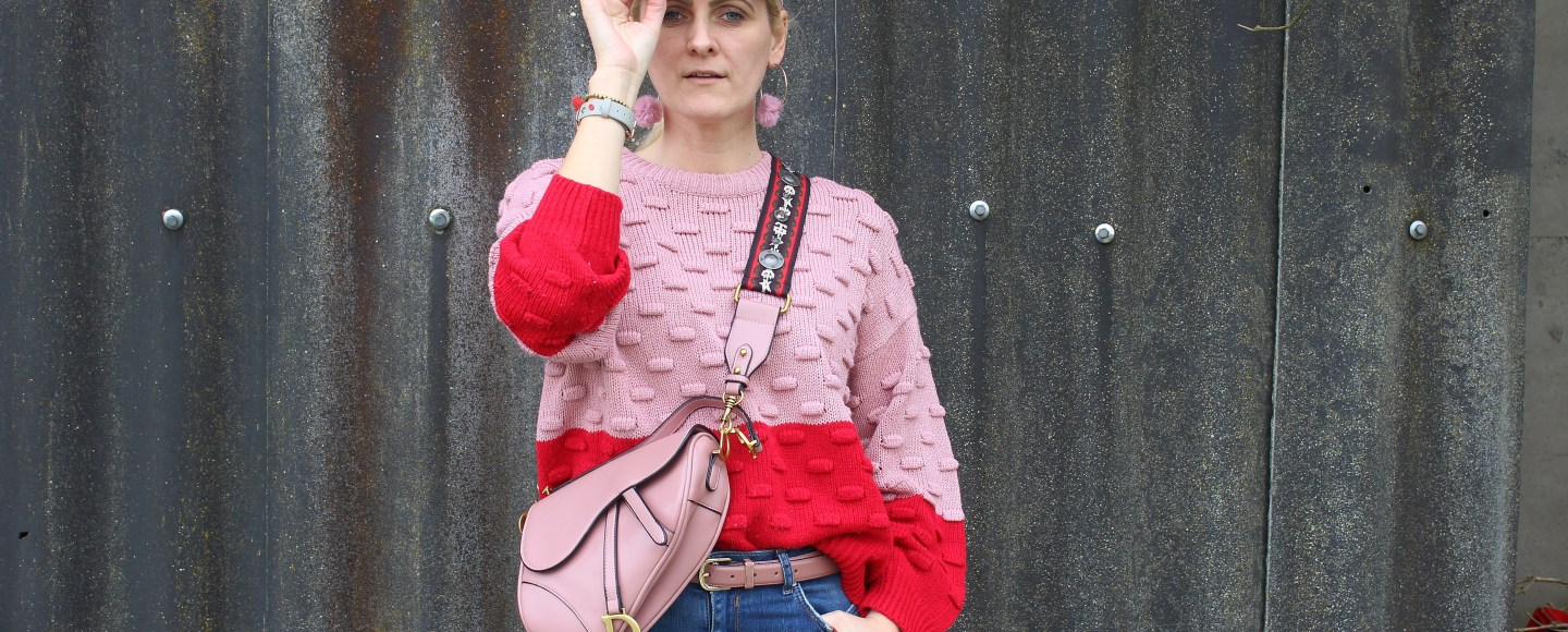 Colourblocking-Nakd-Sweater-Redboots-Dior-Saddle-Bag-carrieslifestyle-Tamara-PRutsch