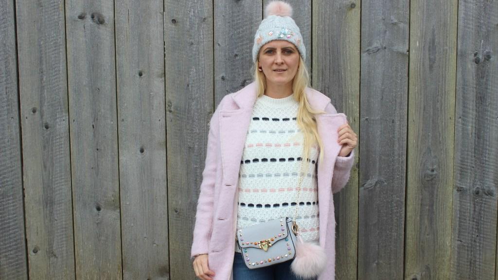 Denim-Pink-Boots-rosa-Mantel-Coat-Studs-Pastellfarben-carrieslifestyle-Tamara-PRutsch