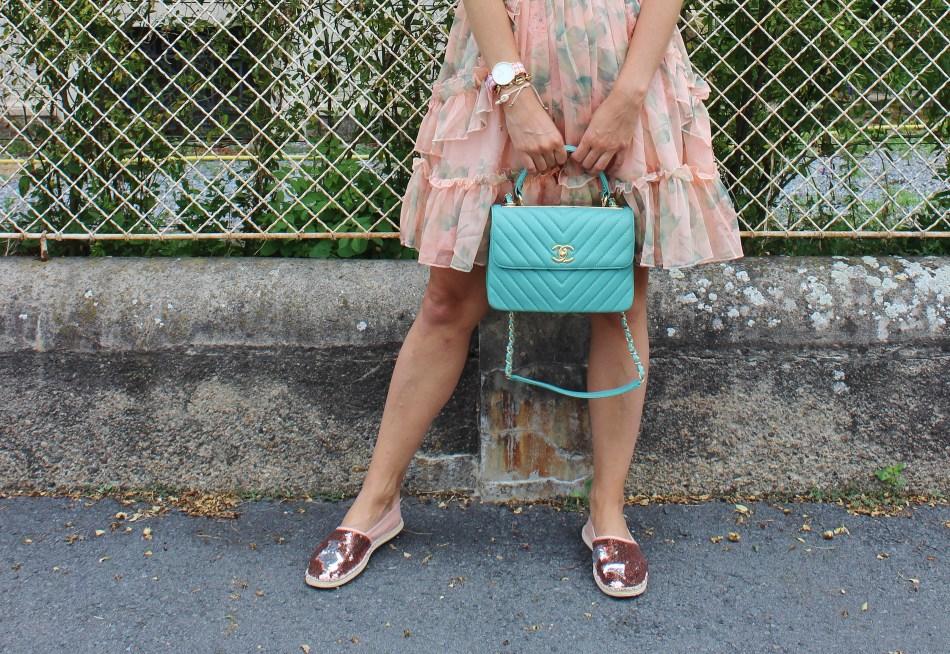 Sommerkleider-Summerdress-Chanel-Bag-Espadrilles-Pastell-carrieslifestyle-Sommeroutfit-Fashionblogger-Blogger