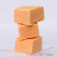 Orange Cream Fudge For Under 5 Dollars